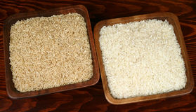 Varietà del riso Immagini Stock