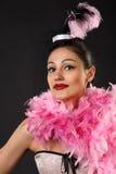 Variete dancer. Stock Photos