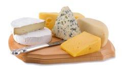 varietes сыра Стоковые Изображения