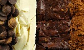Varieties of Chocolate Stock Image