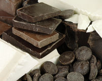 Varieties of Chocolate Royalty Free Stock Photo