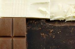 Varieties of Chocolate Stock Photo