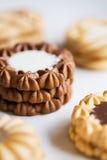 Varieties of cookies Royalty Free Stock Images