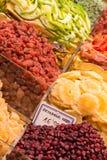 Varieties of Dried Fruit Royalty Free Stock Image