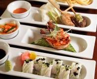 Varieties of food Royalty Free Stock Photo