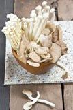Varieties of Mushroom Stock Photos