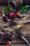 Varieties of tea brewing Royalty Free Stock Images