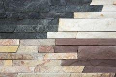 Varieties of travertine  marble. Varieties of travertine and marble Stock Photos