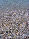 Variety. Pure water of the sea and stones Stock Photo
