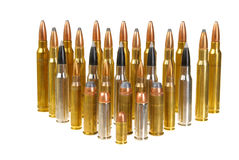 Variety of Ammunition Stock Photos