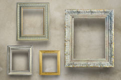 Variety of antique frame Royalty Free Stock Photos