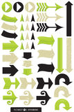 Variety of Arrow Designs Royalty Free Stock Photo