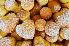 Variety of baked goods, bakery, photo icon for basic food, freshness and variety of goods Royalty Free Stock Image