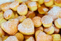 Variety of baked goods, bakery, photo icon for basic food, freshness and variety of goods Royalty Free Stock Images