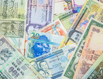 Variety of Bank Notes III Stock Images