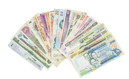 Variety of Bank Notes IV Stock Photos