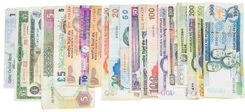 Variety of Bank Notes VI Royalty Free Stock Photo