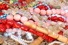Variety of beads Stock Photography