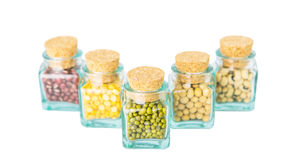 Variety of Beans and Lentils II Royalty Free Stock Image