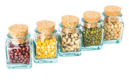 Variety of Beans and Lentils III Royalty Free Stock Images