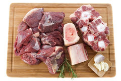 Variety of beef meat Stock Image
