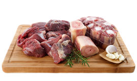 Variety of beef meat Stock Images