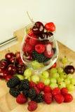 Variety of berries Stock Image