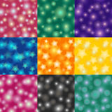 Variety bokeh pattern style 1 Royalty Free Stock Photography