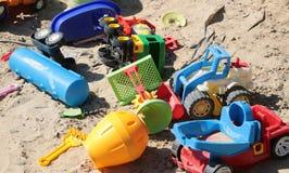 Variety of boyish cars toys Royalty Free Stock Photography