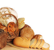 Variety of bread Stock Image