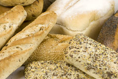 Variety of bread Royalty Free Stock Photography