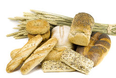 Variety of bread Stock Images