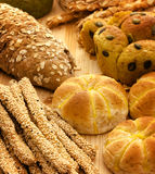 Variety of Breads Royalty Free Stock Image