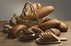 Variety of brown bread Stock Image