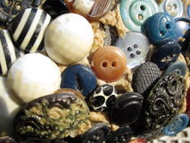 Variety of buttons. A variety of different buttons Royalty Free Stock Image