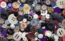 Variety of Buttons Background Royalty Free Stock Photo