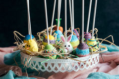Variety of cake pops Royalty Free Stock Images