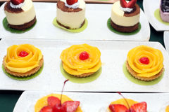 Variety of cakes Stock Photography
