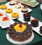 Variety of cakes Royalty Free Stock Photo