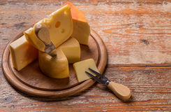 Variety of cheese Stock Photography