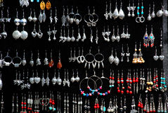 A variety of chinese silver ornaments Royalty Free Stock Image