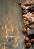 Variety of chocolate Royalty Free Stock Images
