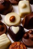 Variety chocolate pralines Stock Image