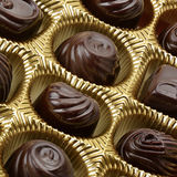 Variety of chocolates Stock Photos