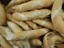 Variety of choice of fresh bread Stock Images