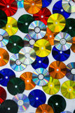 A variety of color disc Stock Photo