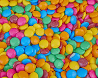 Variety of colorful candies Stock Images