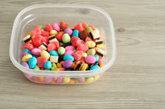 A variety of colorful candy Royalty Free Stock Image