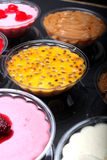 Variety of colorful desserts Stock Photo
