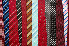 Variety of colorful  neckties Stock Photo
